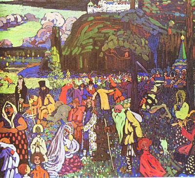 Kandinsky 1907 Motley life small