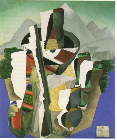 Rivera 1915 Zapatista landscape