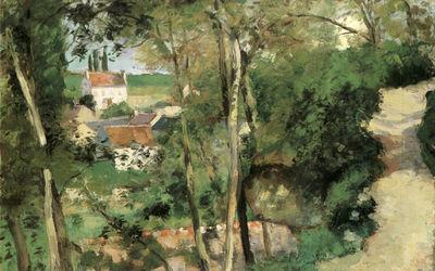 Pissaro 1875 Hermitage Pontoise