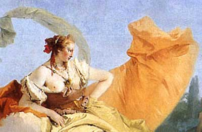 Tiepolo, G 1742 Rinaldo Enchanted by Armida