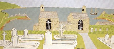 St Ives Cemetery.Bryan Pearce.1975
