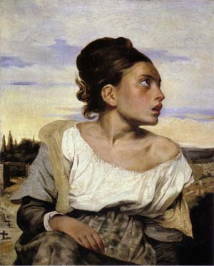 Delacroix 1824 Orphan