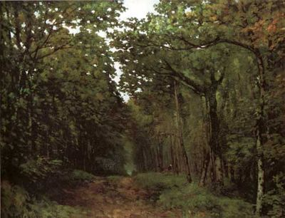 Sisley 1867 Chestnuts at La Celle-Saint Cloud