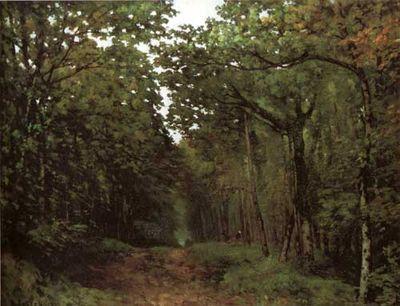 Sisley 1867 Chestnuts at La Celle-Saint Cloud