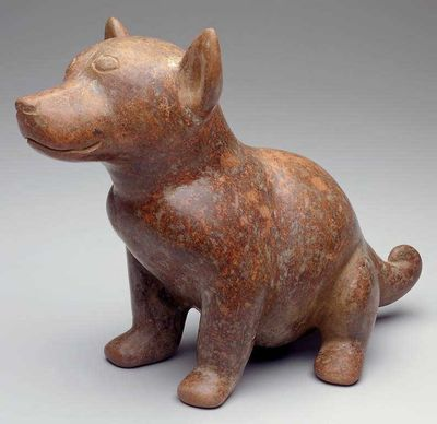 Anonymous Mexican 4th c Dog