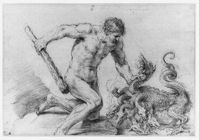Guercino.Hercules