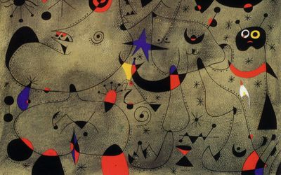 Miro 1940.11.02 Constellation Nocturne