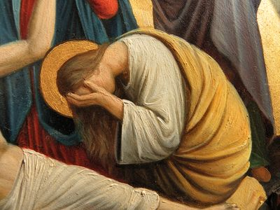 Fr_Pfettisheim_Chemin_de_croix_station_XIII_-_Mary_Magdalene_weeping
