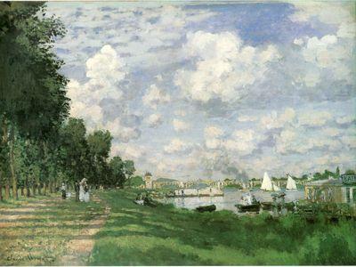 Monet 1872 Argenteuil basin