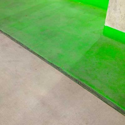 Green half