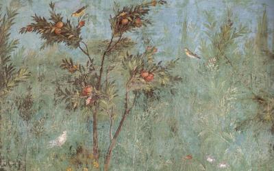 Villa Livia garden fresco 2 20 b.c.e